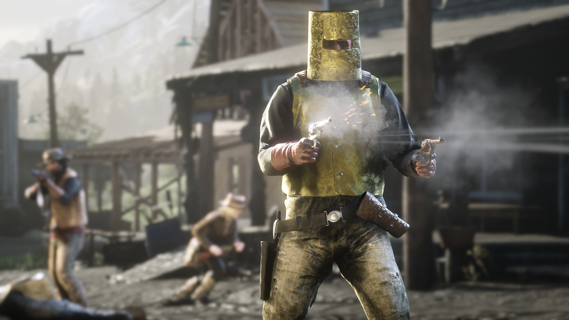 Золотая броня Red Dead Online