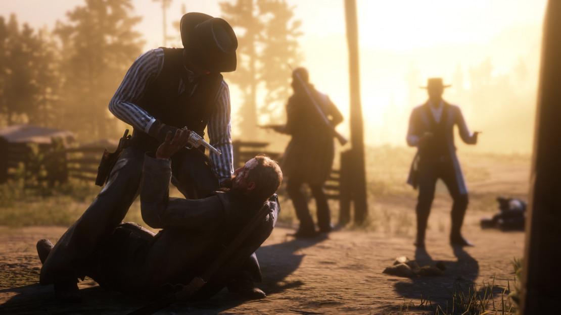Бой и карты способностей в Red Dead Online