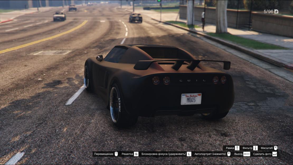 Добавляем перламутровый оттенок на матовую краску в GTA Online