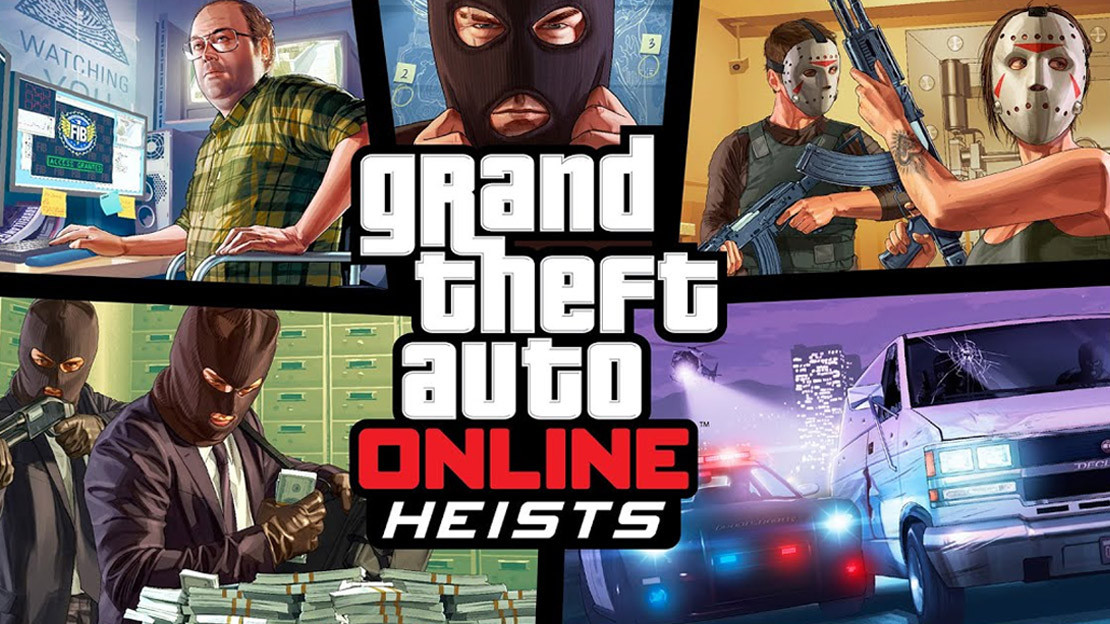 GTA Online — Heists